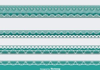 Lace trims set - Free vector #337127
