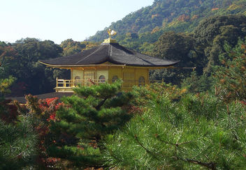 Japan (Kyoto) Another view of Golden Pavilion 1 - бесплатный image #337227