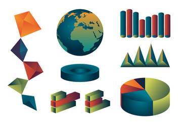 Annual Report Icon Set Vector - бесплатный vector #337617