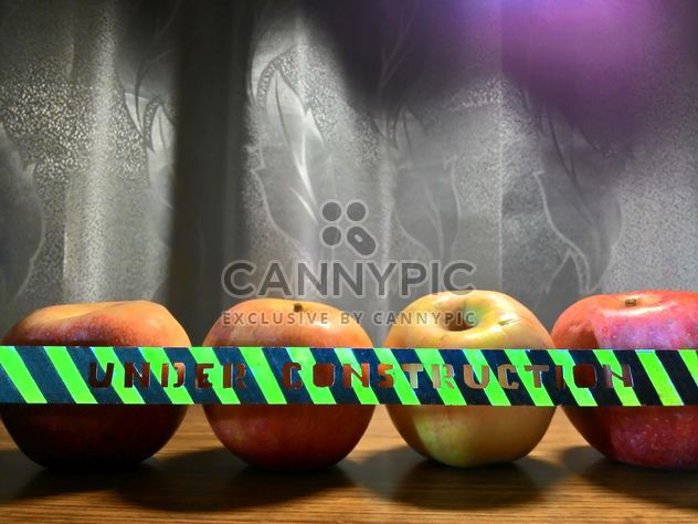 Ripe apples on table - Free image #337877