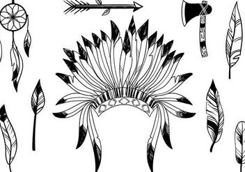 Free Native American Vectors - Kostenloses vector #337947