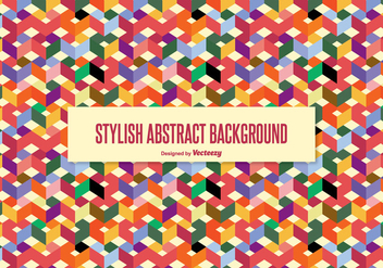 Stylish Abstract Background - Free vector #338097