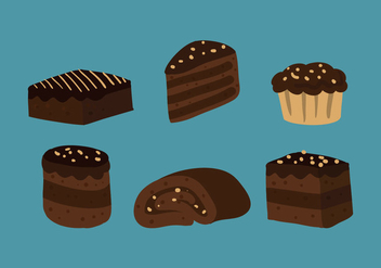Brownie Vector - Free vector #338827