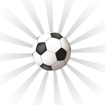 Soccer Ball - Kostenloses vector #339087