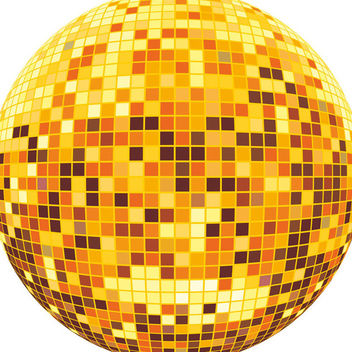 Disco ball - Free vector #339097