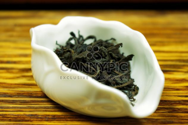 Leaves of green tea - Free image #339227