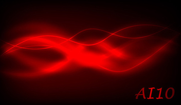 Red wavy background ai10 - vector gratuit #339537
