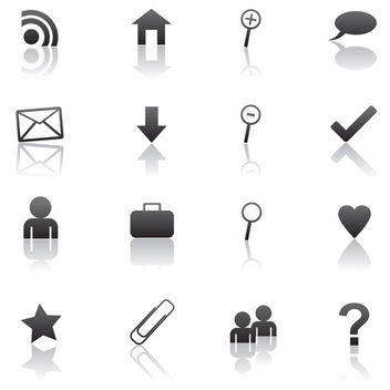 Web 2.0 vector icons - Free vector #339747