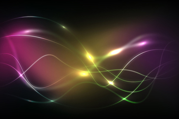 Glowing Dark Energy Background - Free vector #339817