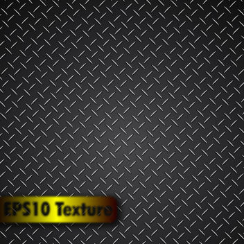 Free Vector Metal Background - Free vector #339897