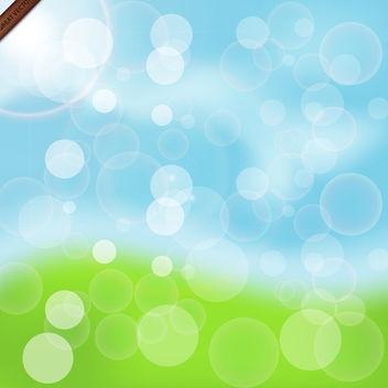 Spring Bokeh Free Vector - Free vector #340017