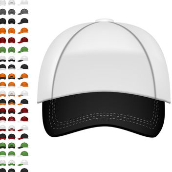 Baseball Cap - vector gratuit #340097