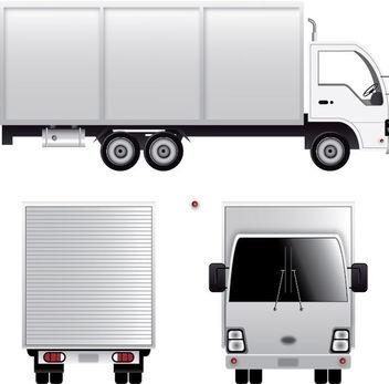 Cargo Van - Free vector #340117