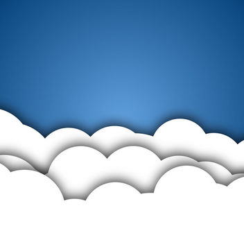 Vector Clouds - vector gratuit #340667