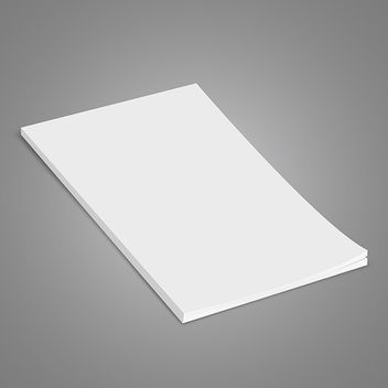 White Brochure - Free vector #340807