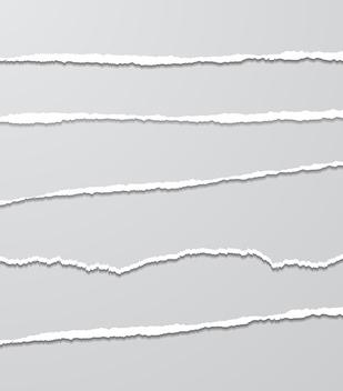 Torn Paper - Kostenloses vector #340857
