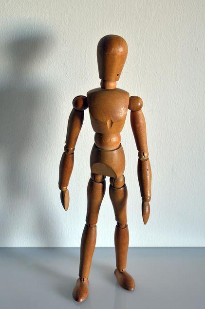 Wooden mannequin doll - image gratuit #341337