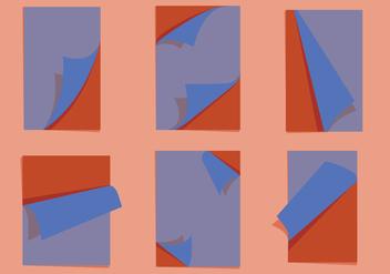 Page Flip Vectors - vector #341397 gratis