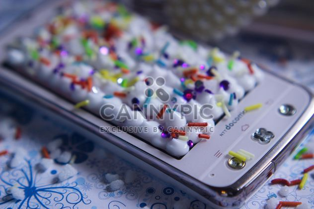 Smartphone with decorative elements - Free image #341497
