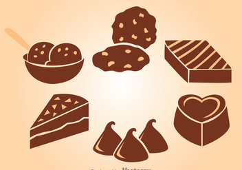 Chocolate Snack - vector gratuit #342297