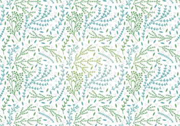 Botanical Vector Seamless Pattern - vector gratuit #342387