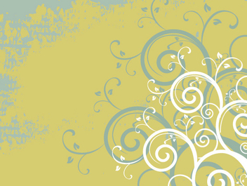 Grungy Abstract Swirls Retro Background - vector #342437 gratis
