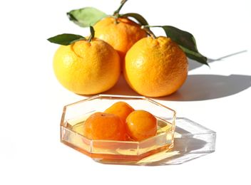 Greek Mandarin Jam and fresh mandarins - image gratuit #342887