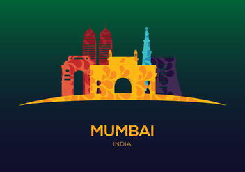 Mumbai Vector - vector gratuit #343227