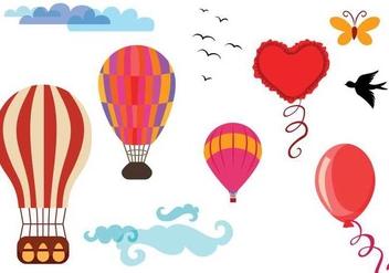 Free Ballon Vectors - бесплатный vector #343647