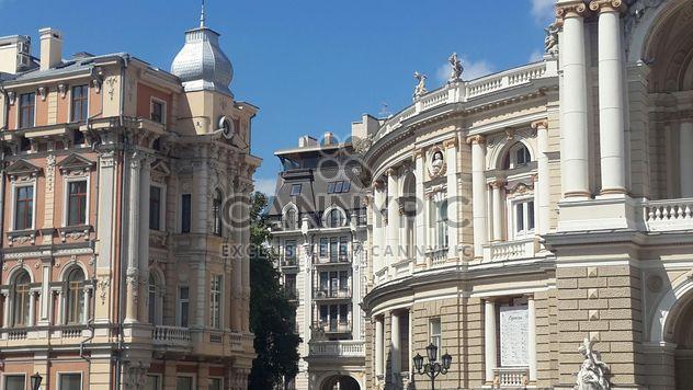 Здание europa старый театр древнего небо - бесплатный image #344217