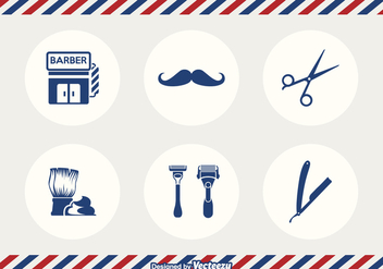 Free Barber Tools Vector - Free vector #344477