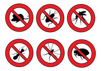 Pest Control Vectors - Kostenloses vector #344667