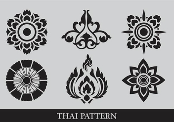 Thai Pattern - Free vector #344697