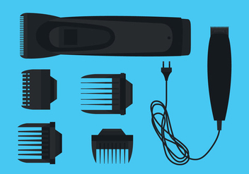 Hair Clippers Vector - vector #344767 gratis