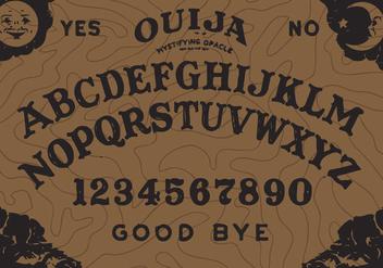 Ouija Board Vector - Kostenloses vector #344777