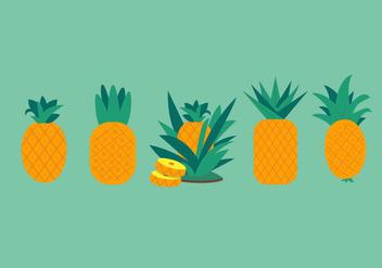 Ananas Vectors - Free vector #344817