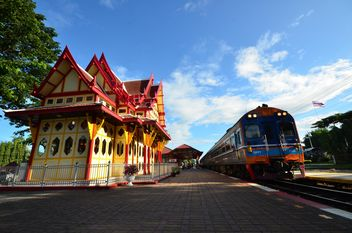 Hua Hin railway station, Thailand - бесплатный image #345037