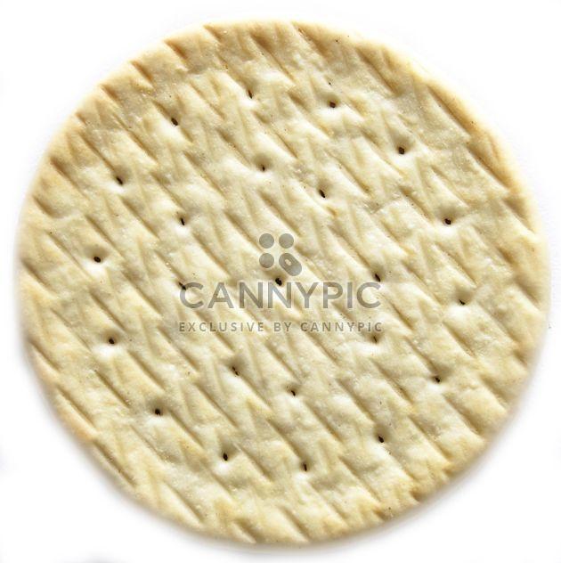 Gros plan de cookie sur fond blanc - Free image #345067