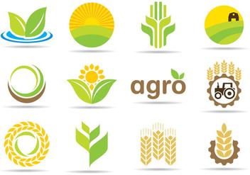 Agro Logos - бесплатный vector #345327