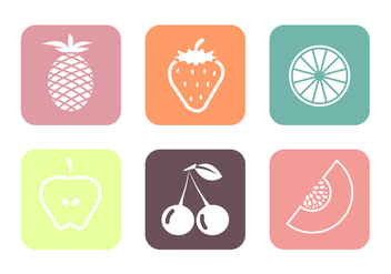 Fruit Vectors - vector gratuit #345397