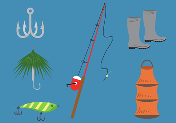 Fishing Lure Vector - vector #345467 gratis