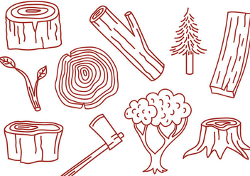 Free Wood Vectors - vector gratuit #345917