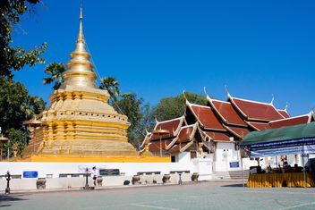 Thai Temples in Chiangmai, Thailand - Kostenloses image #346237