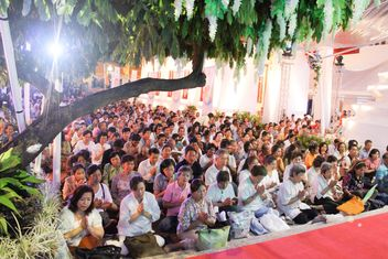 A lot of people at Thai Temple - image gratuit #346287