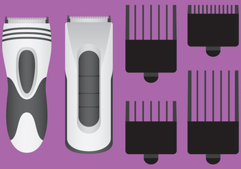 Hair Clippers Vectors - Kostenloses vector #346337