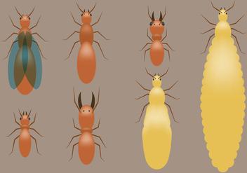 Termites Vectors - Free vector #346367