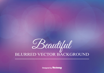 Beautiful Blurred Background Illustration - Kostenloses vector #346387