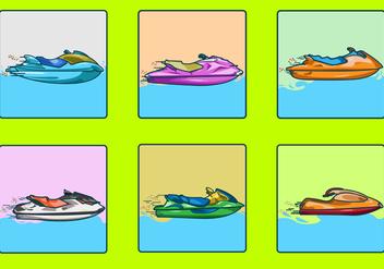 Speedy Jet Ski - vector #346397 gratis