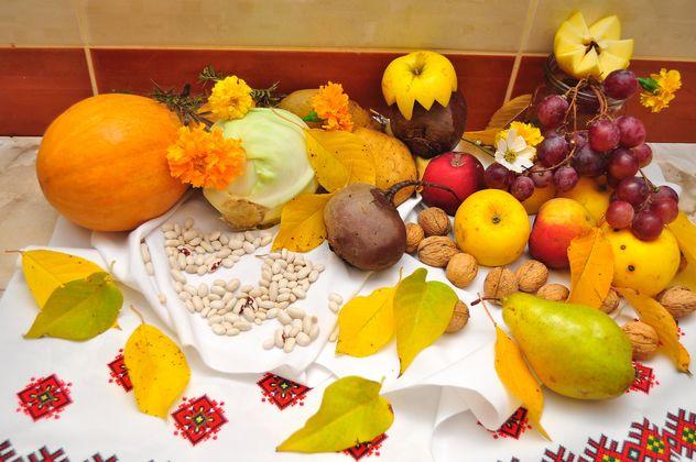Fresh autumn fruits and vegetables - image gratuit(e) #346627