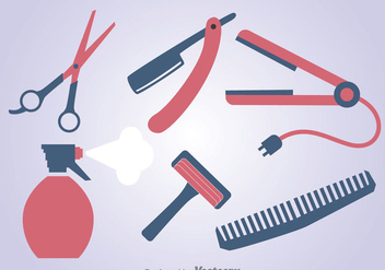 Barber Tools Set - Free vector #346737